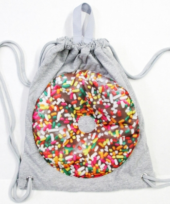 Image Puffy Jersey Donut Sling Bag