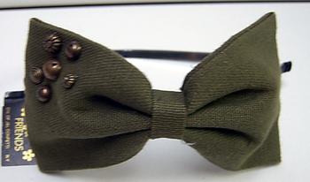 Image Olive Bow Headband