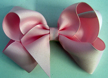 Image Large Grosgrain Bow Pony