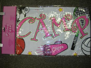 Image Camp Girls Sport Pillow Case