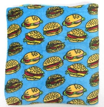 Image Fuzzy Burger Blanket