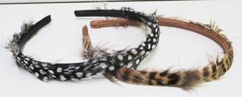 Image Feather Hard Headband