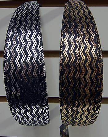 Image Metallic Zig Zag Headband