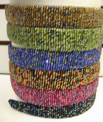 Image Fall Wide Beaded Headband