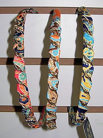 Image Print Chain Link Headband