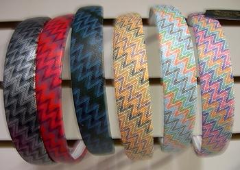 Image Wide Zig Zag Headband