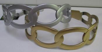 Image Oval Metallic Headband