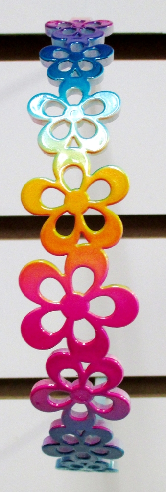 Image Flower Rainbow Headband