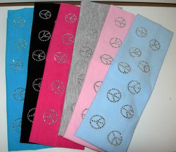 Image Peace Jersey Head Wrap