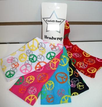 Image Jersey Multi Peace Headwrap