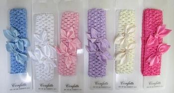 Image Crochet Head Wrap Bow