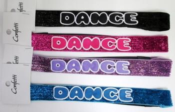 Image Glitter Dance Headwap