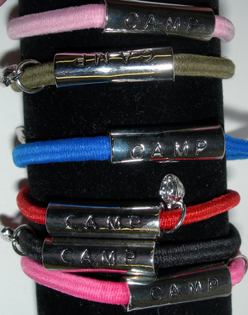 Image Elastic Camp Bar Bracelet