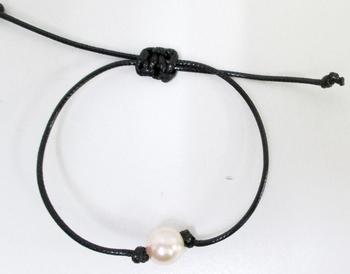 Image Pink Pearl Bracelet