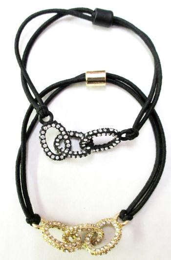 Image Pave Link Bracelet Pony