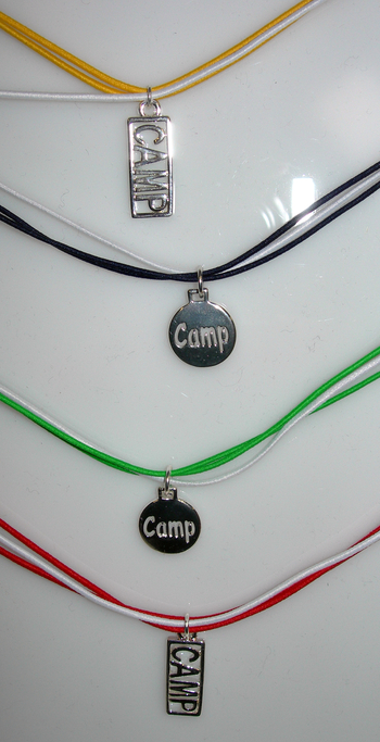 Image Camp Triple Elastic Cord Necklace