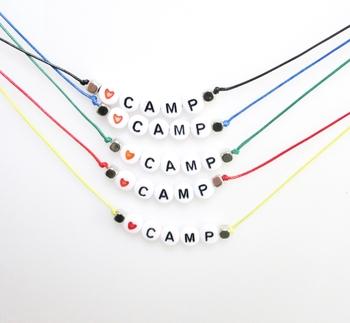 Image Love Camp Beaded Choker