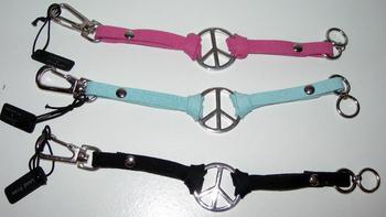 Image Suede Peace Bracelet