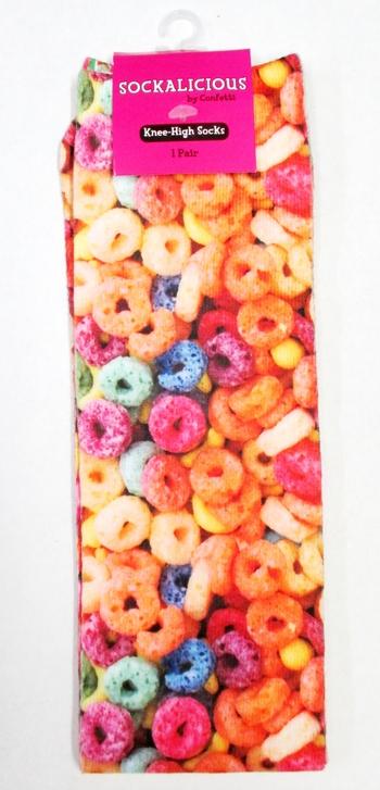 Image Cereal Knee Socks