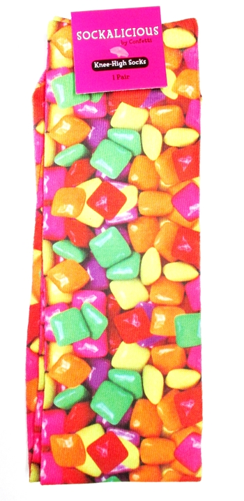 Image Candy Gum Knee Socks
