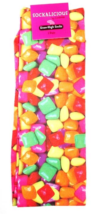 Image Candy Gum Knee Socks