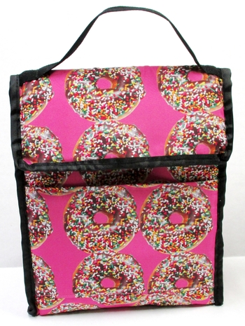 Image Donuts Insulated   Lunch Bag