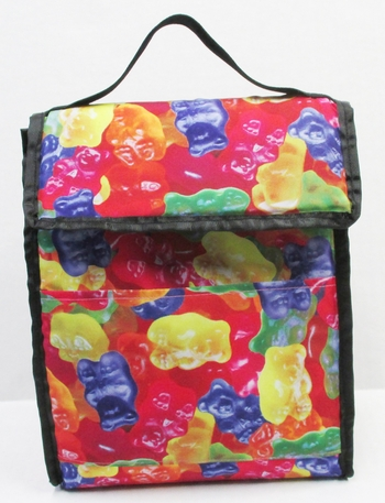 Image Gummy Bears Insulated   Lunch bag