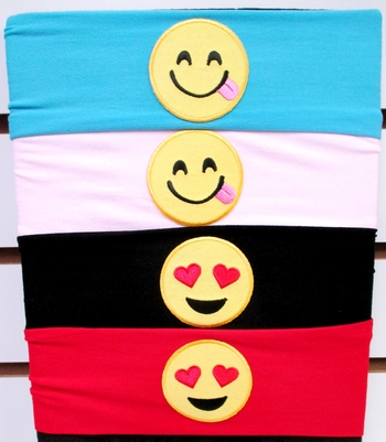 Image Smiley Microfiber Headwrap