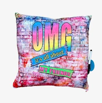 Image OMG Autograph Pillow