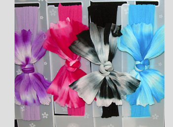 Image Tie Dye Bow Stocking Headband