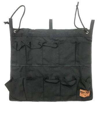 Image Black Bunk Junk 10 Pocket Shoe Bag