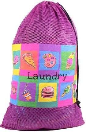 Image Junk Food Mesh Laundry Bag