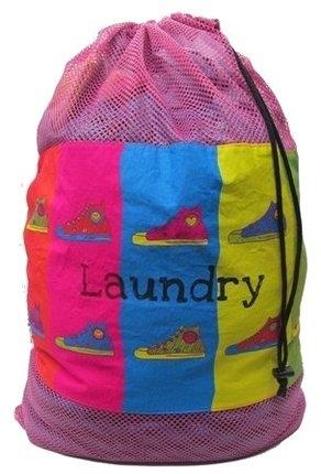 Image Sneaker Mesh Laundry Bag