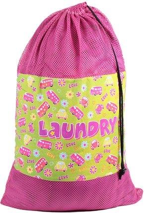 Image Retro Mesh Laundry Bag