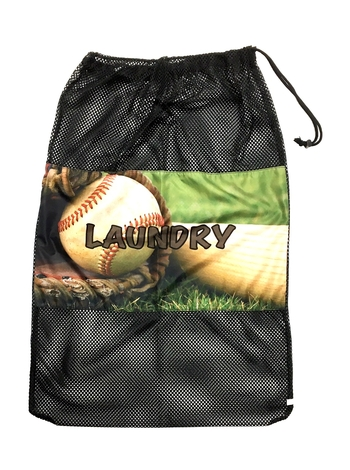 Image Baseball Mitt Laundry Bag