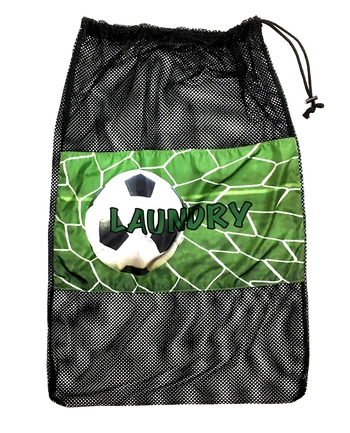 Image Soccer Net Laundry Bag