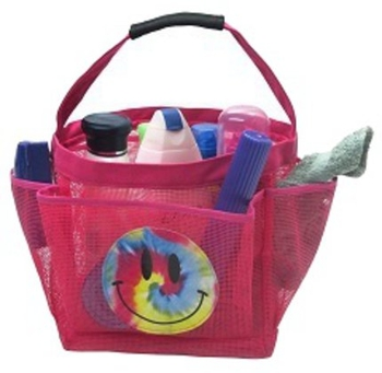 Image Pink Smile Shower Caddy