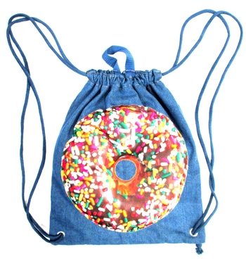 Image Denim Donut Sling bag