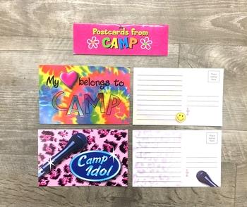 Image My Heart Belongs/Camp Idol Post Card Set