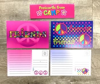 Image Friends/Tattoo Post Card Set
