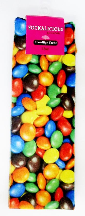 Image Chocolate Candy Knee Socks