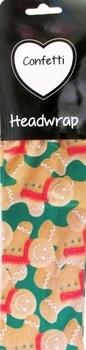 Image Gingerbread Man Christmas Headwrap