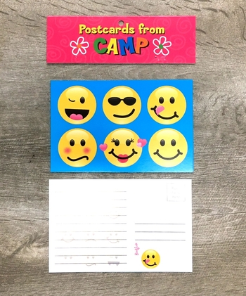 Image Smile Camp Postcards