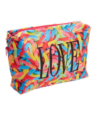 Image Large Gummy Worms Stuff Makeup Case