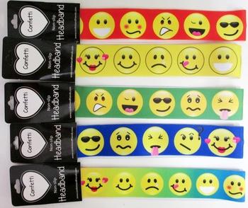 Image Emoji No Slip Headwraps