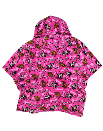 Image Pink Puppy Poncho