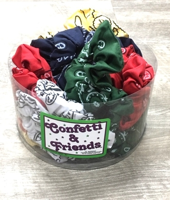 Image Bandana Scrunchie Camp Colors