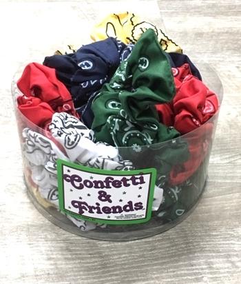 Image Bandana Scrunchie Camp Colors