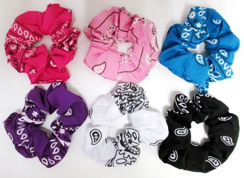 Image Bandana Scrunchie Fashion Colors