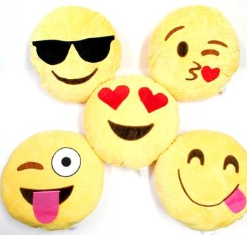 Image Emoji Plush Pillow